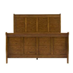 Liberty Furniture Industries - Queen Sleigh Bed, Dresser & Mirror