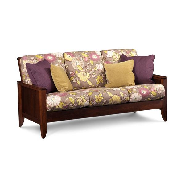 Justine Sofa, Fabric Cushion Seat