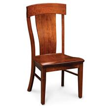 View Product - Harlow Side Chair, Wood Seat