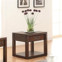 Riata - Side Table - Warm Walnut Finish
