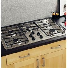 "GE® 36"" Built-In Gas Cooktop MISSING 2 BURNER CAPS, REDUCED!!!!!"