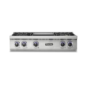 "36"" 7 Series Gas Rangetop - VRT Viking 7 Series"