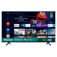 "50"" Class- A6G Series - 4K UHD Hisense Android Smart TV (2021)"