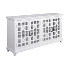 Reynolds 4-door Credenza In Light Finish