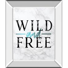 Wild and Free Turquoise Marble Adventure Quote By Nature Magick