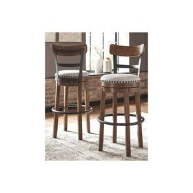 Valebeck Tall UPH Swivel Barstool Multi