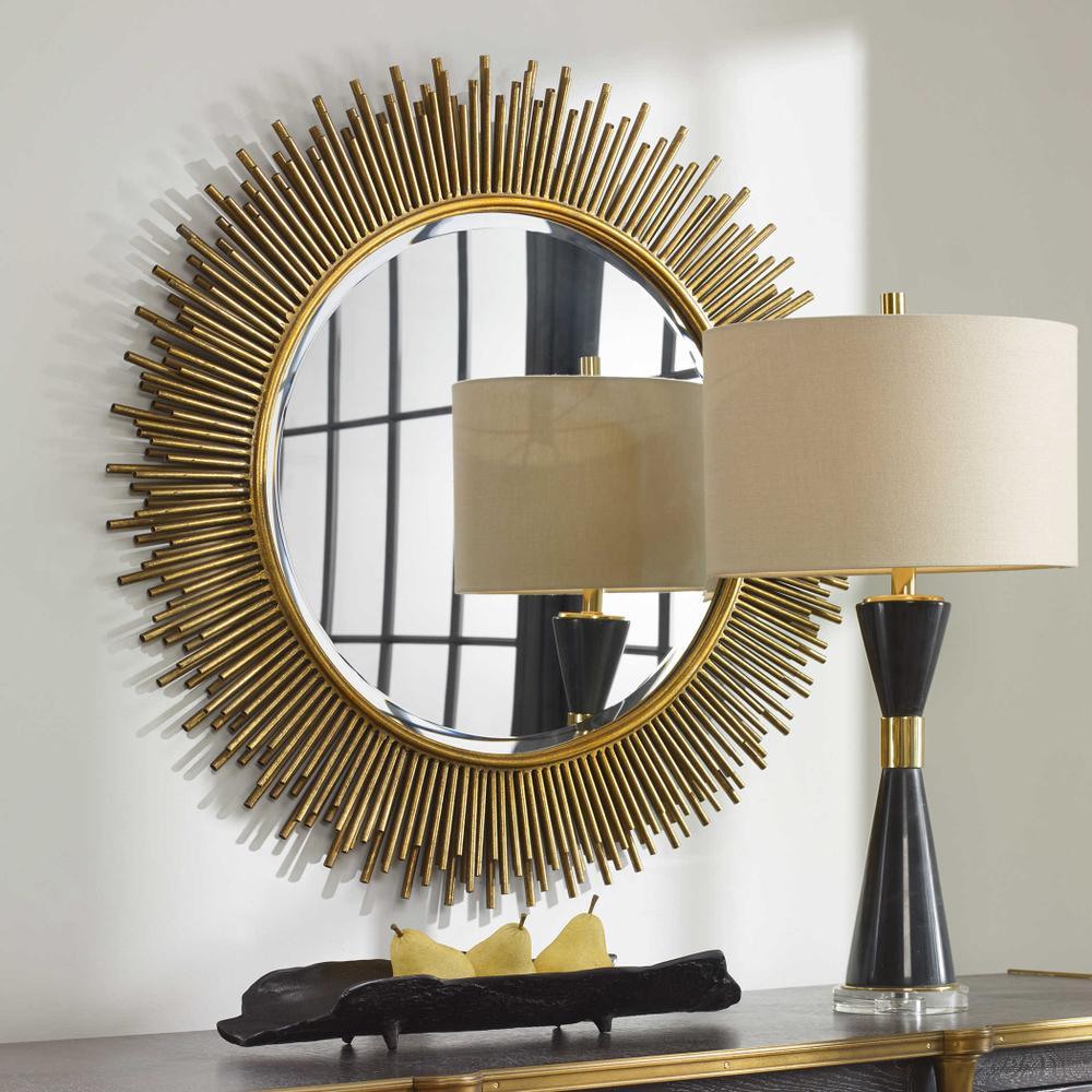 See Details - Marlo Round Mirror