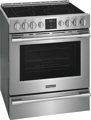 Frigidaire Professional Professional 30'' Front Control Electric Range With Air Fry