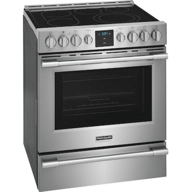 Frigidaire Pro  Professional 30'' Front Control Electric Range with Air Fry