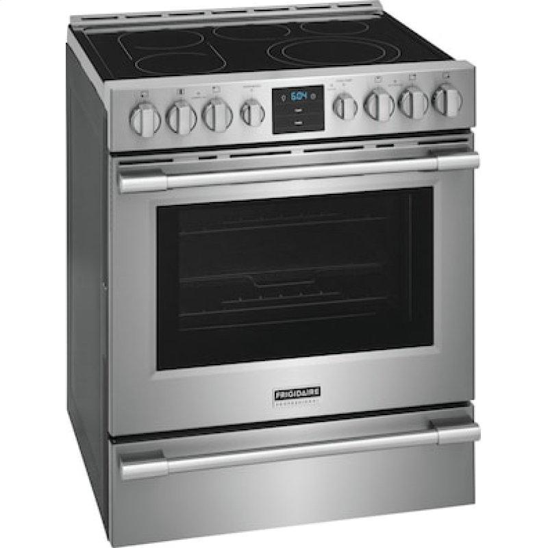 Professional 30'' Front Control Electric Range with Air Fry