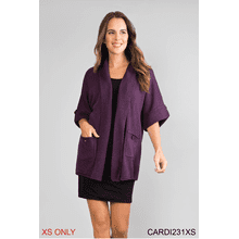 Button Pocket Cardigan - XS (3 pc. ppk.)