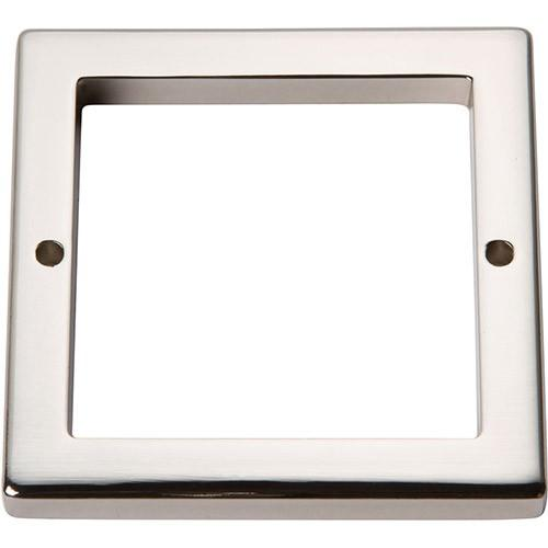 Tableau Square Base 2 1/2 Inch - Polished Nickel