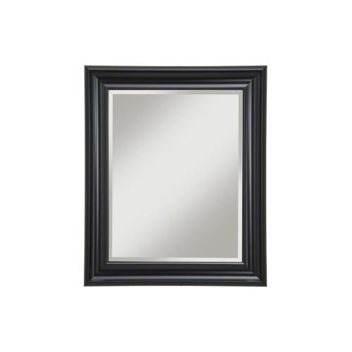 Black Wall Mirror - Black
