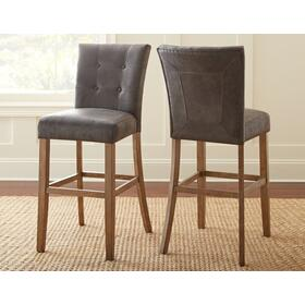 Debby Bar Chair, Grey