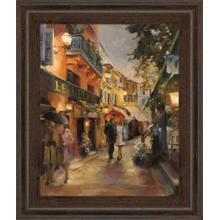 """""""Evening In Paris"""" By Marilyn Hageman Framed Print Wall Art"""