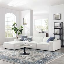 Restore 4-Piece Sectional Sofa in White