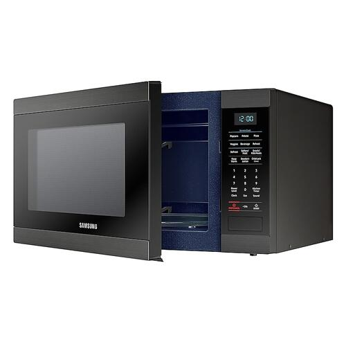 Product Image - 1.9 cu. ft. Countertop Microwave with Sensor Cooking in Fingerprint Resistant Black Stainless Steel
