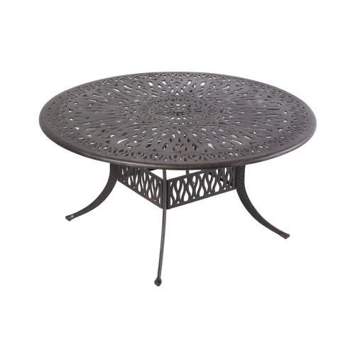 """Kaleidoscope 48"""" Round Dining Table w/ Umb hole"""
