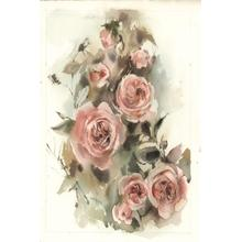 Framed - Blush Roses V By Sophia Rodinov