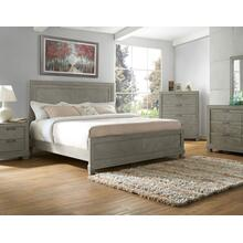 Montana 3-Piece King Bed, Grey