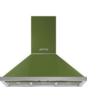 "36"" Portofino Chimney Hood, Olive green"