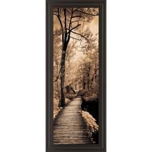 """Quiet Stroll I"" By Sziletyi Framed Print Wall Art"