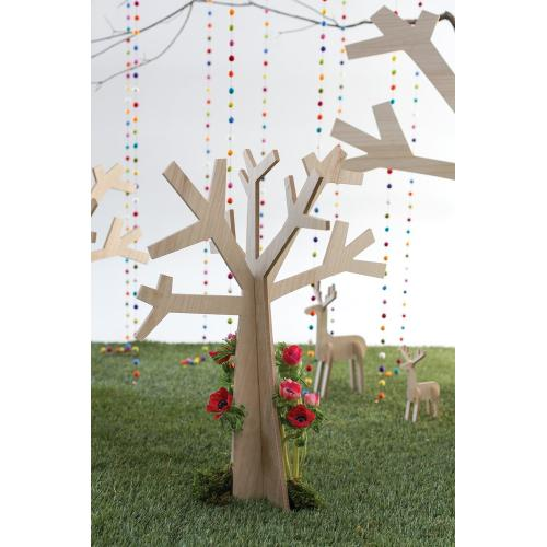 """24.5"""" x 19"""" x 30"""" E+E Wooden Tree"""