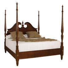 Pediment Poster Bed 6/6