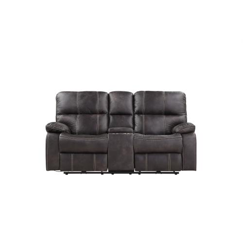 Emerald Home Power Console Loveseat W/ Usb Power Outlet U7130-21-03
