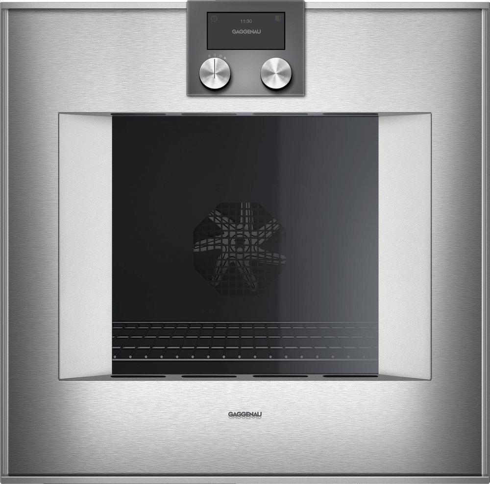 400 Series Oven 24'' Door Hinge: Right, Door Hinge: Right, Stainless Steel Behind Glass Photo #2