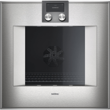 "400 series 400 series oven Stainless steel-backed full glass door Width 24"" (60 cm) Controls on top"