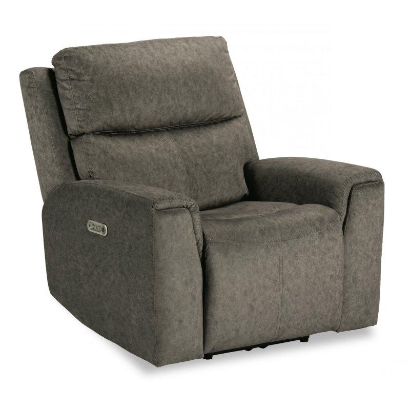 Jarvis Power Recliner with Power Headrest in Fabric