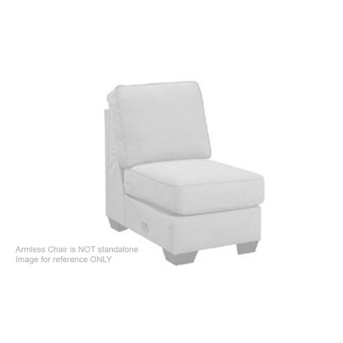 Segburg Armless Chair With Drop Down Table