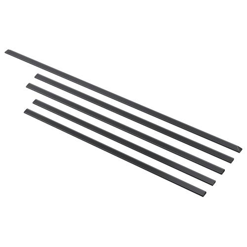 "Trim Kit for 30"" Slide in Range, 5 piece in Black Stainless Steel"