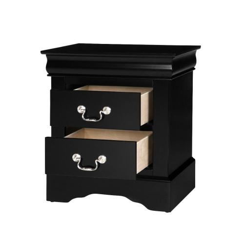 Lewiston Nightstand, Black