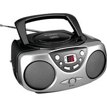 Portable CD Boom Boxes with AM/FM Radio (Black)