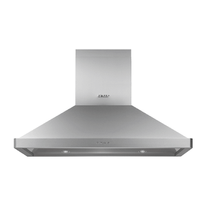 """42"""" Chimney Island Hood, Silver Stainless Steel Product Image"""