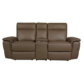 See Details - Olympia Power Reclining Love Seat w/ Console