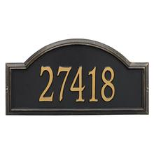 Providence Arch - Estate Wall - One Line - Black/Gold