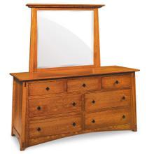 See Details - McCoy 7-Drawer Dresser, 62'w x 23 'd x 33 'h