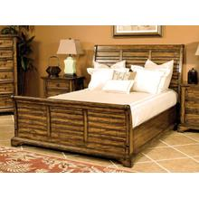 E.KING Sleigh Bed