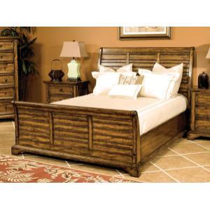 E.KING Sleigh Bed