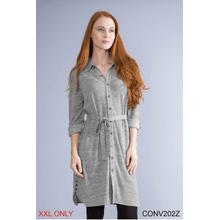 See Details - Button Me UP Dress/Jacket - XXL (3 pc. ppk.)
