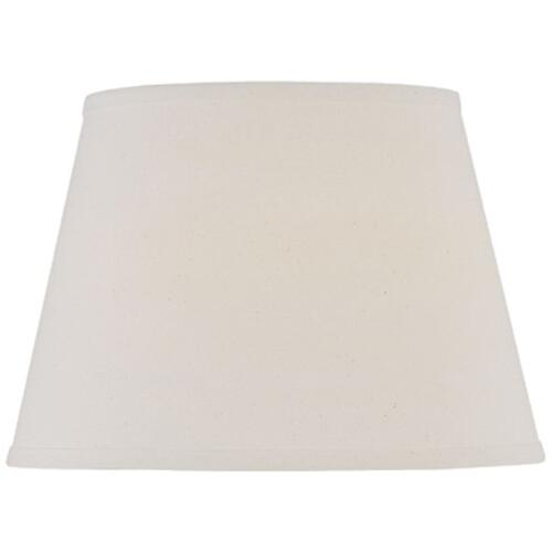 "Off-white Fine Linen Floor Shade - 11""tx16""bx11""sl"