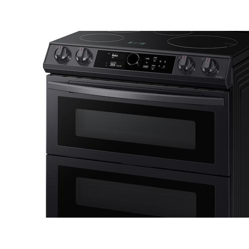 6.3 cu. ft. Smart Slide-In Induction Range with Flex Duo™, Smart Dial & Air Fry in Black Stainless Steel