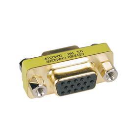 Compact/Slimline VGA Video Coupler Gender Changer (HD15 F/F)