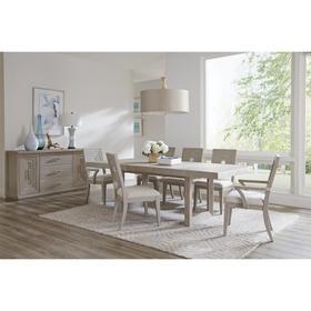 Cascade - Rectangular Dining Table Base - Dovetail Finish