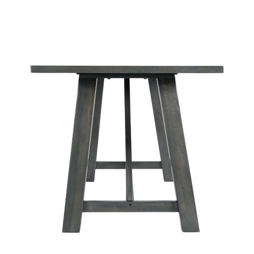 Renegade 6PC Dining Set in Gray-Table, 4 Side Chairs & Bench