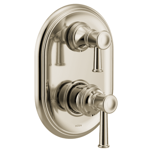 Belfield polished nickel m-core 3-series with integrated transfer valve trim