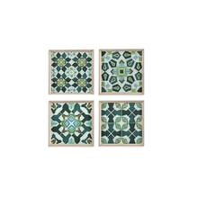 See Details - 4 PC Palm Piazza Tile
